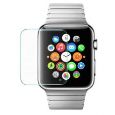 Folie de protectie iUni pentru Smartwatch Apple Watch 38mm 3D Tempered Glass Transparent