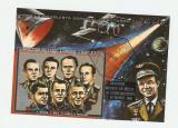 GUINEEA ECUATORIALA . Colita - cosmonauti celebri.