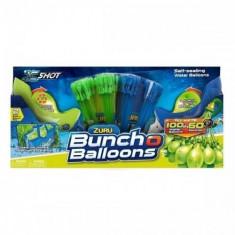 Baloane cu apa Zuru Bunch O Balloons Rapid Fill cu 2 lansatoare