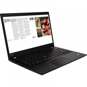Laptop Lenovo ThinkPad T490 14 inch WQHD Intel Core i5-8265U 8GB DDR4 256GB SSD FPR Windows 10 Pro Black