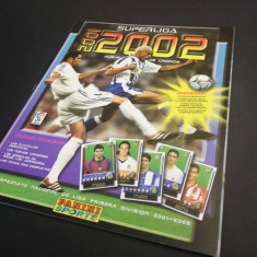 Album gol Panini SuperLiga 2001 – 2002 Spania (RAR!)