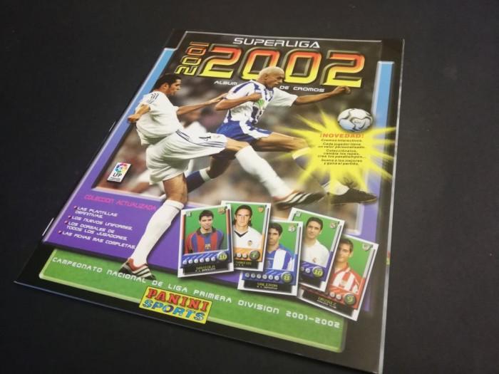 Album gol Panini SuperLiga 2001 – 2002 Spania (RAR!)