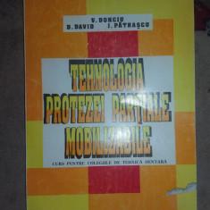 Tehnologia protezei partialemobilizabile an1996/378figuri/162pag- Donciu , David