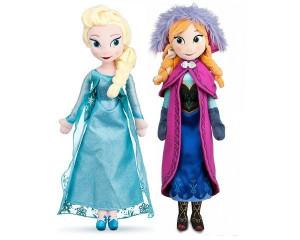 Set Anna si Elsa din Frozen plus 50cm