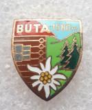 Insigna turism - Buta - 1580 m, Romania de la 1950