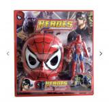 Masca spider man si hulk