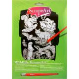 Gravura Wildlife Keycraft, 29 x 21 cm, 5 ani+