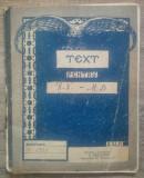 Caiet continand notite despre spiritism// 1923
