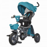 Tricicleta multufunctionala 4 in 1 DHS Baby Hapi Neo, Albastru