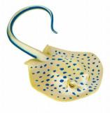 Safari, Figurina Pisica de mare cu pete albastre