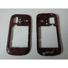 Carcasa mijloc samsung i8190 galaxy s3 mini rosu orig swap