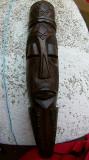 Masca Africana veche din lemn (Abanos) 70 cm