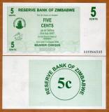 = ZIMBABWE – 5 CENTS - 2006 - UNC  =