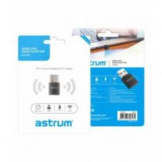 Adaptor retea Wi-Fi 2,4Ghz, Nano, USB, Astrum NA300