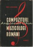 Cumpara ieftin Compozitori Si Muzicologi Romani. Mic Lexicon - Viorel Cosma - Tiraj: 4640 Ex.