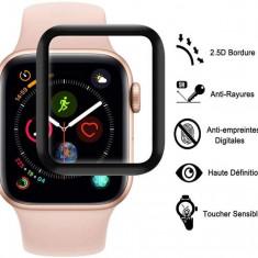 Folie Sticla Tempered Glass Ceas Apple Watch 4 40mm 3D Black