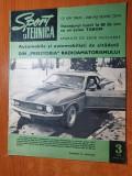 sport si tehnica martie 1970-ocolul pamantului in 80 ore cu un avion tarom
