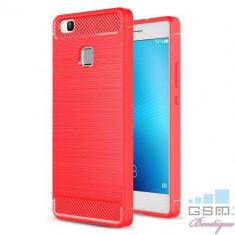 Husa Huawei P9 Lite TPU Carbon Rosie