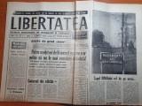 Ziarul libertatea 6 - 7 noiembrie 1990- 4 sclupturi de brancus pe care s-ar ...