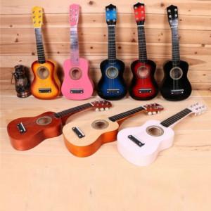 Chitara Clasica Lemn Lacuit copii, amatori, incepatori 3/4  Corzi metalice