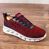 Pantofi sport rosii barbati MDL00376