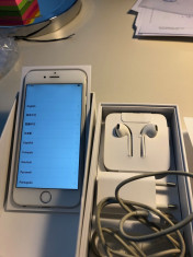 vand iPhone 6/16GB, alb, in cutie, toate accesoriile, liber de retea, perfect foto