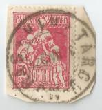Romania, LP VI.10c/1921, Asistenta sociala - Infirmiera, oblit., Stampilat