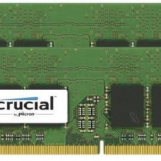 Memorie Laptop Crucial SODIMM, DDR4, 2x8GB, 2666 MHz, CL19