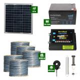 Gard electric Animale Sălbatice 6,6J putere cu Sârmă 5000m și Panou Solar