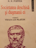 SOCIETATEA DESCHISA SI DUSMANII EI VOL I SI II -K. R. POPPER, HUMANITAS,1993