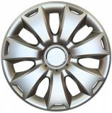 Set capace roti 15 inch tip Ford, culoare Silver 15-335