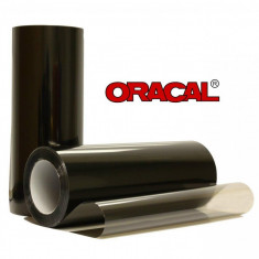 Folie Dark BLACK protectie faruri / stopuri ORACAL 60x60cm