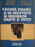 Calculul Dinamic Si De Rezistenta Al Arborilor Drepti Si Coti - Andrei Ripianu Ioan Craciun ,284423