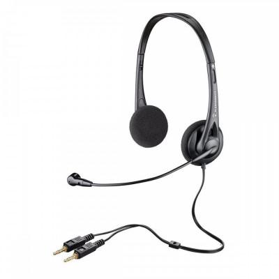 Casti cu microfon PLANTRONICS ,AUDIO 322, PC headset foto