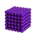 Neocube 216 bile magnetice 5mm, joc puzzle, culoare mov