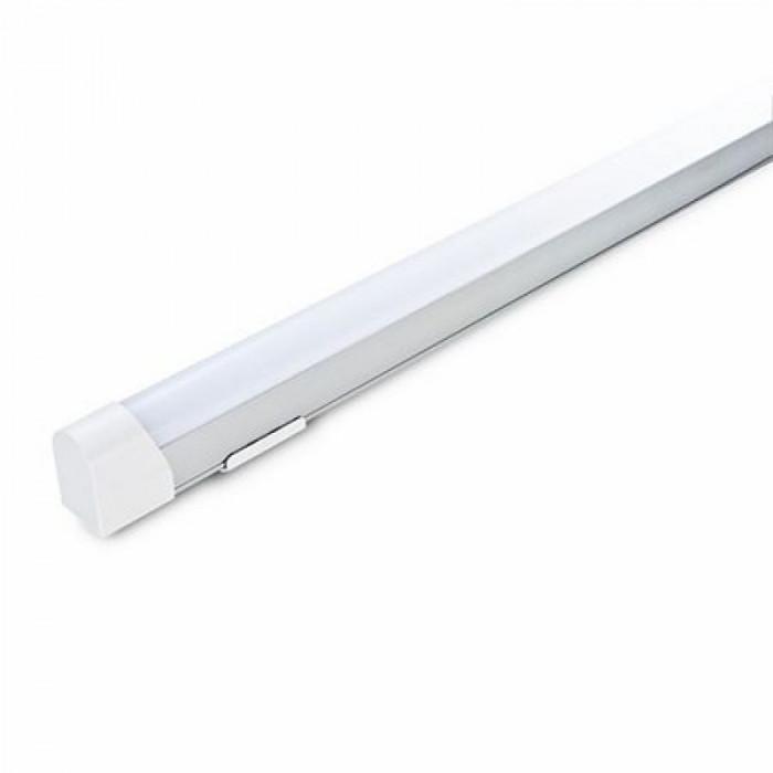 Aplica LED, 10 W, 60 cm, temperatura culoare alb cald, montaj perete