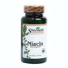 Vitamina B3 (Niacina) 100mg Swanson Vitaking 250cp Cod: sw043
