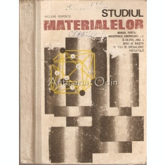 Studiul Materialelor - Niculae Popescu