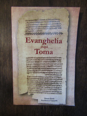 Evanghelia dupa Toma foto