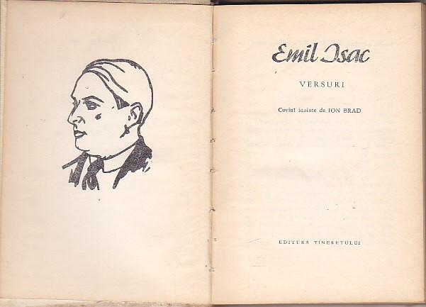 EMIL ISAC - VERSURI