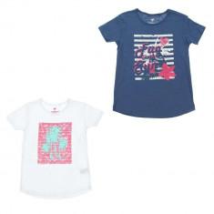 Set doua tricouri brand Pepperts 6 8 ani