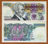 Polonia 2 000 000 zloti 1992  UNC