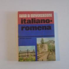 GUIDA DI CONVERSAZIONE ITALIANO - ROMENA de HARITINA GHERMAN , 1985