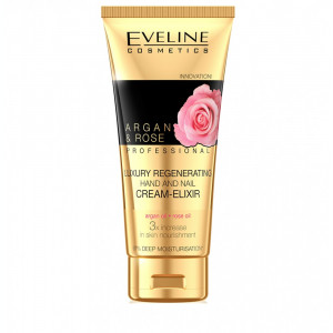Crema-elixir de maini Eveline Cosmetic Argan&Rose 100ml