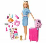 Cumpara ieftin Papusa Barbie Travel