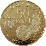 Romania 50 Bani 2017 Carol Sistemul monetar national 1867 proof