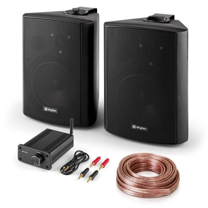 "Skytec PA HiFi Set ""Bluetooth Play BK"" 