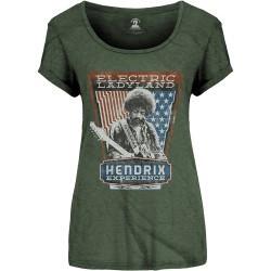 Tricou Dama Jimi Hendrix: Electric Ladyland foto