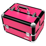 Geanta Manichiura din Aluminiu Fraulein38, Hot Pink