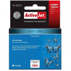 Consumabil ActiveJet Cartus compatibil T0805 light cyan Epson C13T08054010
